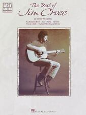THE BEST OF JIM CROCE - EASY GUITAR NOTES & TAB SONGBOOK 702145
