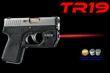 ARMA LASER TR19 RED SIGHT for Kahr P380, CW380, CT380 with Grip Touch Activation