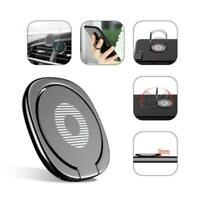 Universal 360 Finger Grip Metal Ring Stand Holder Bracket For Smart Phone Fast S