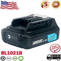 12V For Makita BL1021B Max CXT 2.5 Ah Lithium-Ion BL1041B BL1016 BL1015B Battery
