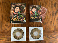 Arcanum of Steamworks & Magick Obscura - Big Box PC Game Complete And Ships Free