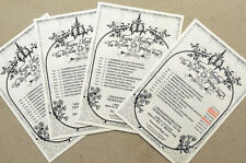 LAURA MARLING THE WISDOM OF SPRING TOUR FLYER CARDS X 4