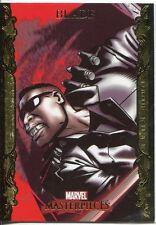 Marvel Masterpieces 2007 UD Gold Border Parallel Base Card #12 Blade