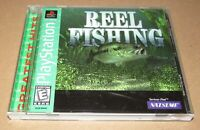 Reel Fishing for Playstation PS1 Complete Fast Shipping!