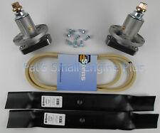 "John Deere 42"" Lawn Mower Spindle Blade Belt & Bolt Set L100 L105 L107 L108 L110"