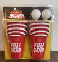 Full Send Beer Pong Kit Very Limited IN HAND
