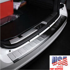 Stainless Steel Rear Bumper Protector Sill Plate Cover for Ford Edge 2008-2014