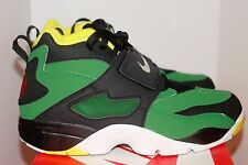 Nike Air Diamond Turf Oregon Ducks Size 10.5 DS Deon Sanders Apple Green Yellow