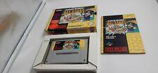 Jeu Super Nintendo SNES Super Mario All-Stars complet