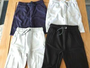 Boys TU M&S Shorts Bundle - Age 9-10 - Navy Grey Black
