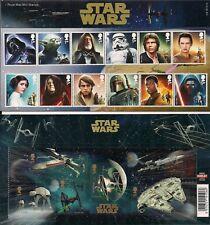 More details for royal mail stamps presentation pack 518 star wars (2015) free uk p&p