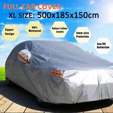 XL Full Car Cover Waterproof Dust Zipper For Chevrolet Chevy Epica Malibu Camaro
