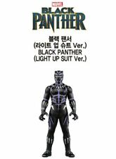 Takara Tomy Marvel Avengers Black Panther Light Up Suit Metal Figure Collection