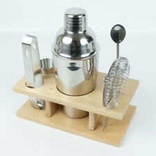 Cocktail Shaker Set 6 Piece Bar Mixer Stainless Steel Professional Bartender Kit