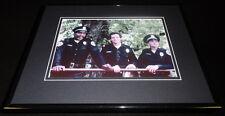 Police Academy Cast Framed 11x14 Photo Display Bubba Smith Steve Guttenberg