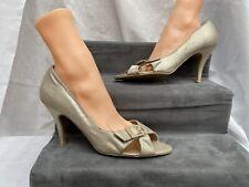 New Look Dorado Champagne Zapatos de tacones altos para mujer Talle brillante Reino Unido 8 euro 41