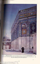 National Geographic, Dec 1927, Jerusaem, East of Suez to Mount of Decalogue