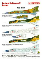 Techmod Decals 1/32 MIKOYAN MiG-23MF FLOGGER Russian Jet Fighter