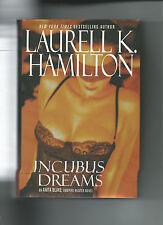 Incubus Dreams By Laurell K Hamilton VGC HC/DJ Anita Blake Vampire Killer