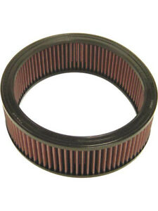 K&N Round Air Filter FOR DODGE B200 VAN 400 V8 CARB (E-1250)