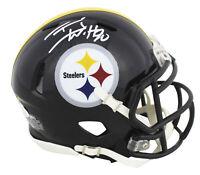 Steelers T.J. Watt Authentic Signed Speed Mini Helmet Autographed JSA Witness
