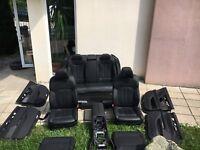 BMW G12 Lederausstattung Komfortsitze Sitze Seats Leder Leather DAKOTA SCHWARZ
