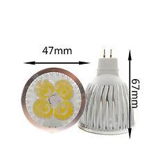 Led Bulb MR16 GU10 E27 E14 Spot Lights 3W/4W/9W/12W/15W White Lamp 110V 220V 12V
