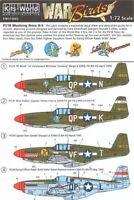 KITS-WORLD 1/72 North-American P-51B Mustang ART SUR LE NEZ DES AVIONS 336th /