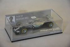 MINICHAMPS - MERCEDES AMG PETRONAS F1 TEAM W06 Rosberg USA GP 2015 1/43