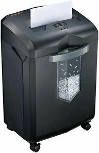 Bonsaii 18-Sheet Crosscut Paper Shredder, 60-Minutes Shredder for Home Office He