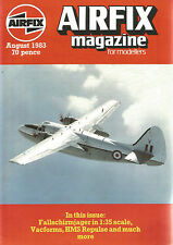 AIRFIX AUGUST 1983 FALLSCHIRMJAGER IN 1:35 SCALE / VACFORMS / HMS REPULSE
