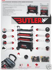 KS TOOLS BUTLER Chariot à outils d'atelier de montage pliable Vehicule 895.0000