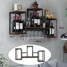 Portabottiglie in Metallo Portabottiglie Espositore Arredamento bar per la Casa