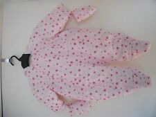 Baby Girl 3-6 months Marks & Spencer Pink Polyester Snowsuit