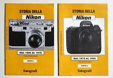 STORIA DELLA NIKON DAL 1946 AL 1996 - DUE VOLUMETTI - FOTOGRAFIA