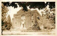 1940s RPPC Postcard; Commerce Hall University of Oregon Eugene OR 'VI' B 62
