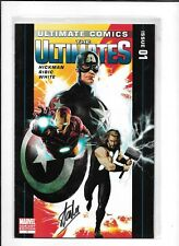 ULTIMATE COMICS THE ULTIMATES #1 NM- STAN LEE SIGNED SPECIAL EDITION MARVEL 2011