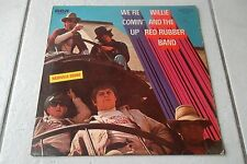 WILLIE AND THE RED RUBBER BAND WE'RE COMIN'UP LP GERMAN 1969