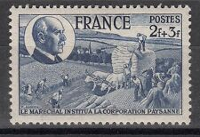 FRANCE TIMBRE  N° 607 ** CORPORATION PAYSANNE