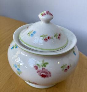 Greengate Sugar Bowl Brand New Flower Design