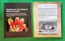 Nicholaas Ten Hove - Memoirs Of The House Of Medici - 2 vols - pb