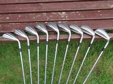 FANTASTIC SET 9 IRONS TAYLOMADE IRON CLEEK REGULAR SHAFTS 3-S 3 4 5 6 7 8 9 P S
