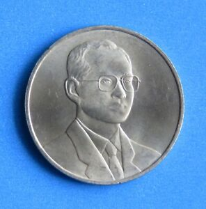 Thailand 20 Baht Coin 2000 King Rama 9 Asian Development Bank Nice - Hand Picked