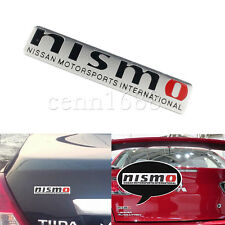 1x Car Auto Nismo Motor Sport International Body Trunk Lid Sticker Badge Emblems