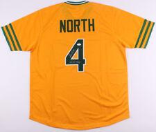 "Bill North Signed Oakland Athletics Jersey Inscribed ""2x WS Champ"" (JSA COA)"