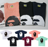 [S-XXL] A BATHING APE Men's BICOLOR BY BATHING TEE 6colors From Japan New