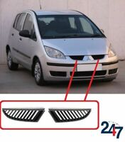 FRONT UPPER KIDNEY GRILL SET COMPATIBLE WITH MITSUBISHI COLT SPORT 2004-2008
