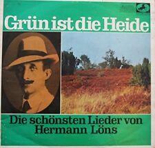 Hermann Löns   LP   Grün ist die Heide