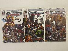 Alternative comics Transformers Armada 1-3 Guidebook + Summer Special NM BB