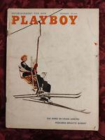 RARE PLAYBOY magazine November 1958 BRIGITTE BARDOT FRANK SINATRA